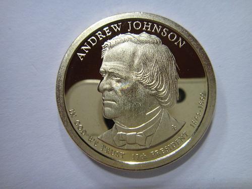 2011-S Andrew Johnson Presidential Dollar Proof-65 (GEM)