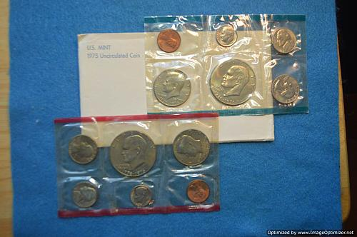 1975 PD Uncirculated Mint Sets