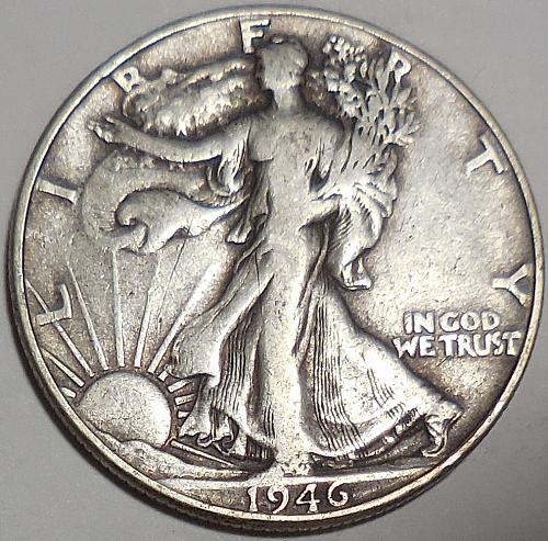 Walking Liberty Half Dollar 1946-P