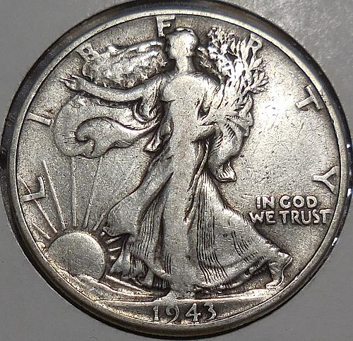 Walking Liberty Half Dollar 1943-P