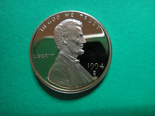 1994-S Lincoln Cent Proof-67 (SUPER GEM) RED!  Amazing Coin!!