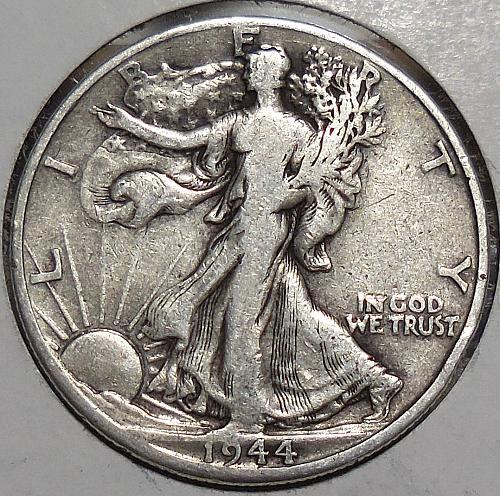 Walking Liberty Half Dollar 1944-D