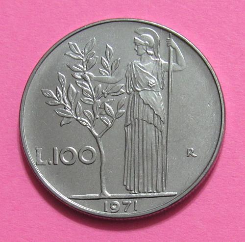1971 Italy 100 Lira
