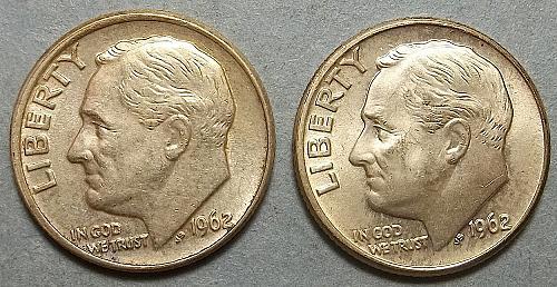 2 Roosevelt Dimes Lot RsV2ce