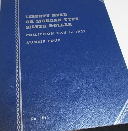 MORGAN DOLLAR FOLDER 1892-1921