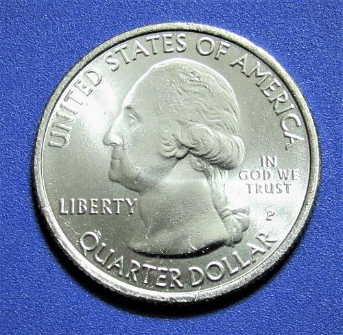 2011-P 25 Cents Vicksburg Mississippi National Park America the Beautiful Quarte