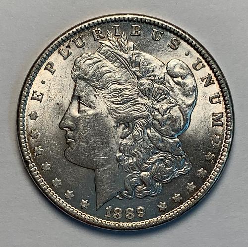 1889 Morgan Silver Dollar BU [MDL 86]