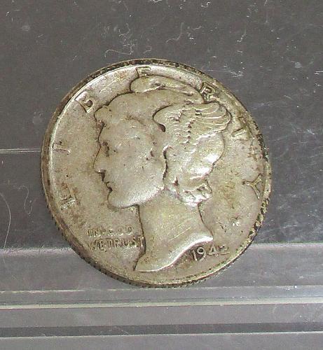 1942 P Mercury Dime