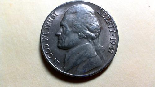 1947 D Jefferson Nickels