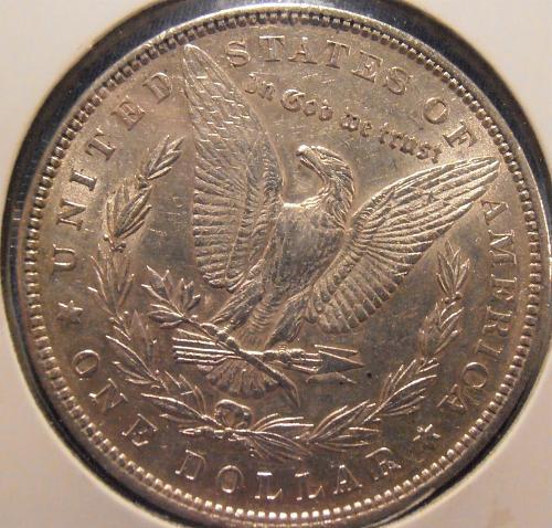 1884 P Morgan Silver Dollar (84P10)
