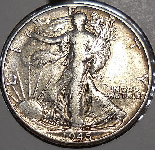 1945-P Walking Liberty Half Dollar