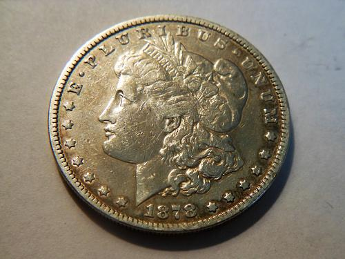1878-P Morgan Silver Dollar, 7 Tail Feathers *Reverse of 1878* Parallel Arrow