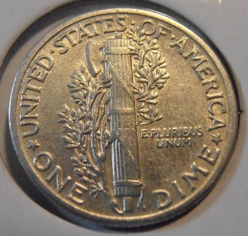 1941 P Mercury Silver Dime (41PAC1)