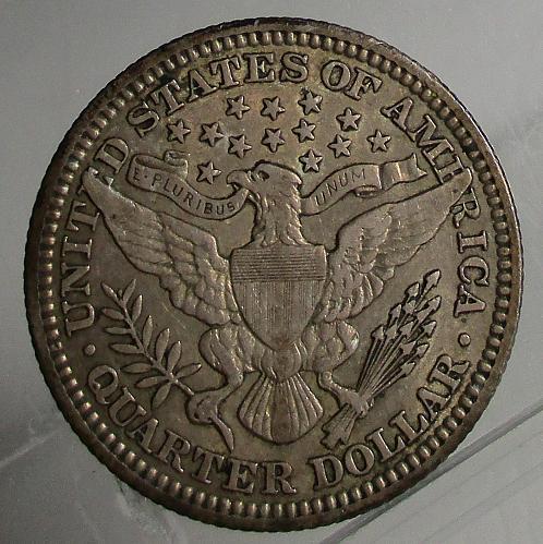 1915 P Barber Quarter - Nice Original Coin ***