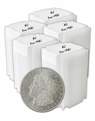 Pre 1921 Silver Morgan Dollar AU Lot of 100 S$1 Coins