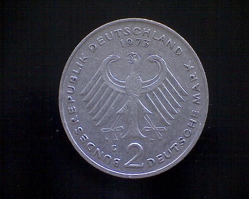1973G  GERMANY TWO MARK