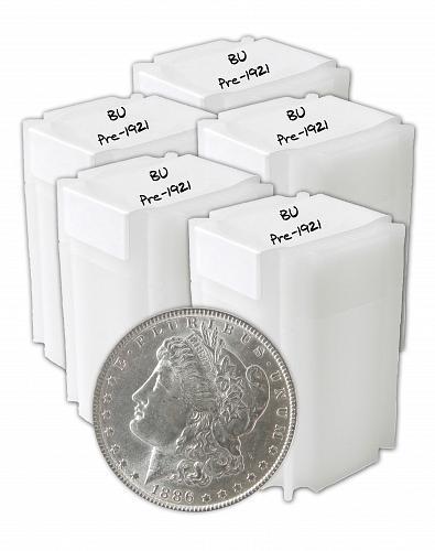 Pre 1921 Silver Morgan Dollar BU Lot of 100 S$1 Coins