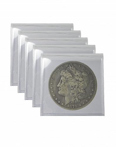Pre 1921 Silver Morgan Dollar VG+ Lot of 5 S$1 Coins
