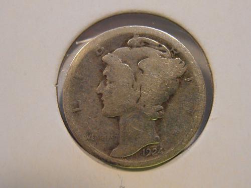 1924 P Mercury Silver Dime (24PM4)