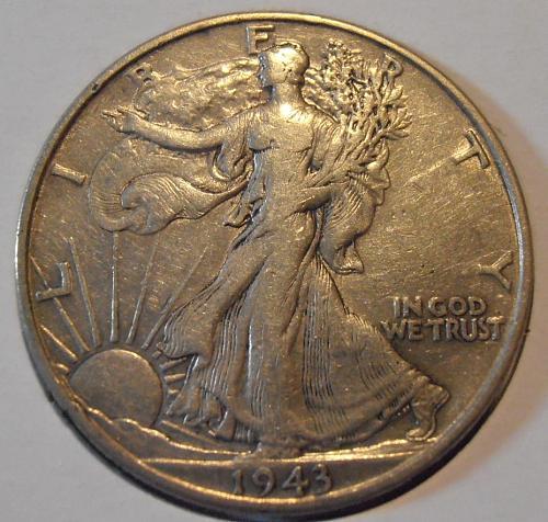 1943 P Walking Liberty Half Dollar (43PAC1)
