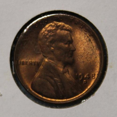 1948 D Lincoln Wheat Cent
