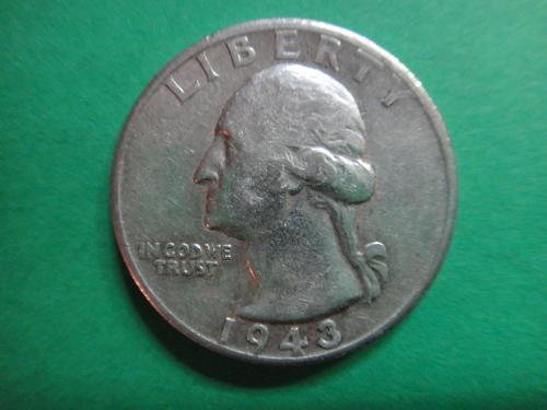 1943-S Washington Quarter Extra Fine-40