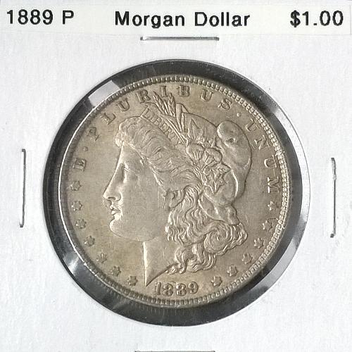 1889 P Morgan Dollar - 6 Photos!