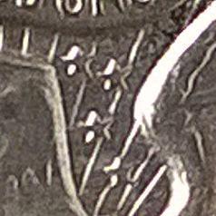 1964 D Kennedy Half Dollar - Transitional Reverse, Straight G, Broken Rays