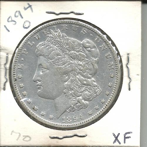 1894   O     MORGAN DOLLAR