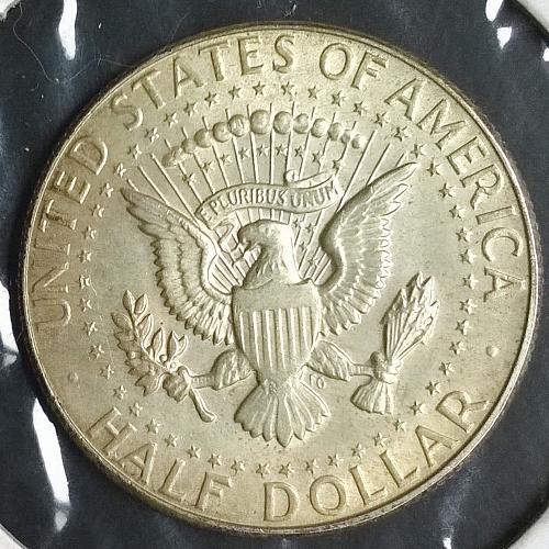 1966 P Kennedy Half Dollar - 6 Photos!