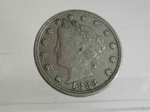 1883 P Liberty Nickel: No Cents #4