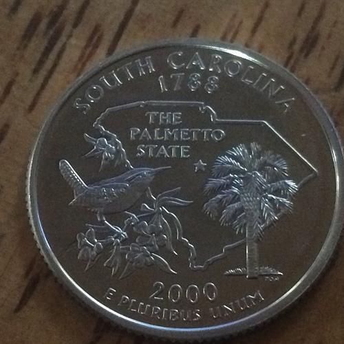 2000 S South Carolina Clad Proof