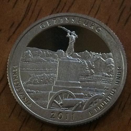 2011 S Gettysberg Clad Proof