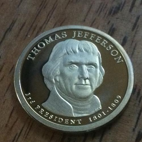 2007 S Thomas Jefferson Proof