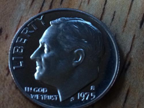 1975 S Roosevelt Dime Proof #3
