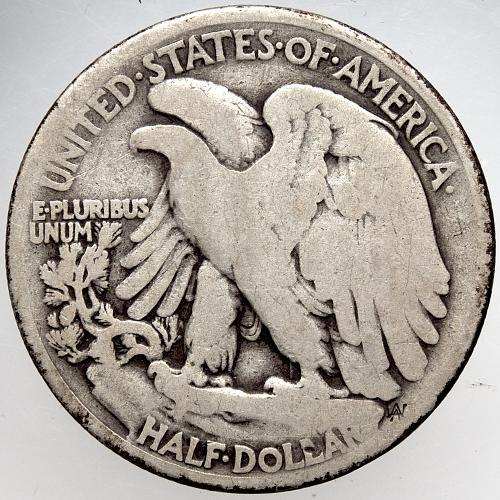 1920 P Walking Liberty Half Dollars #9