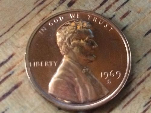 1969 S Lincoln Memorial Cent Proof