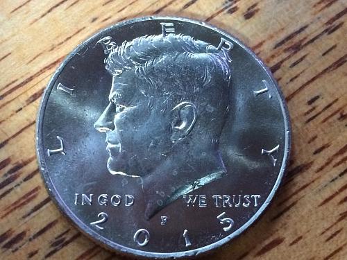 2015 P Kennedy Half Dollar