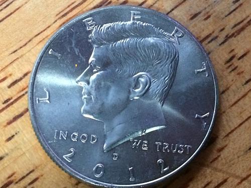 2013 P Kennedy Half Dollar