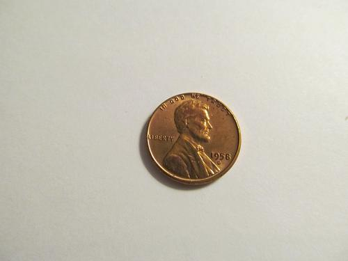 1958-D Lincoln Wheat Cent