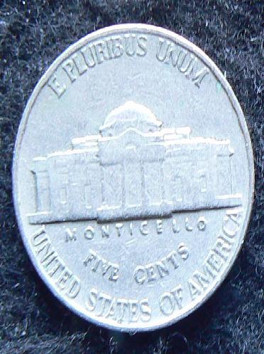 1958 P Jefferson Nickel (F-12)
