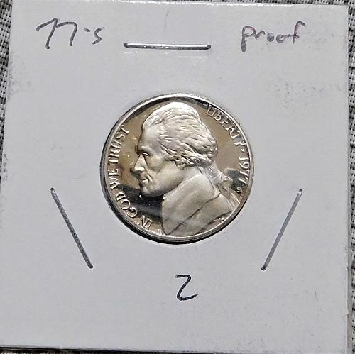 1977 S PROOF Jefferson Nickel,  Nice Coin!!!
