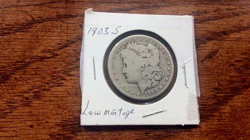 1903 S Morgan Silver Dollar See Photos Low Mintage1.2   M