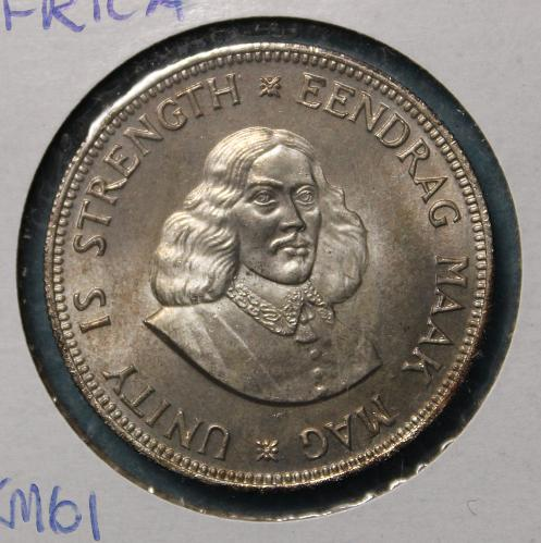 South Africa 1961 20 cents