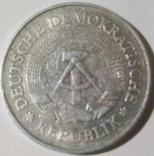 Germany DDR 1977 1 Mark