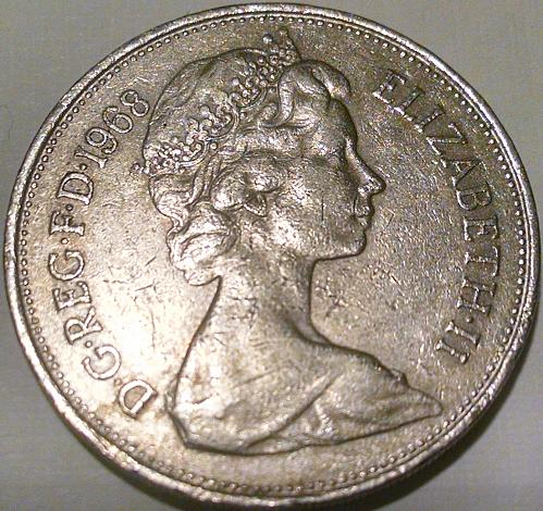 Great Britain 1968 10 New Pence