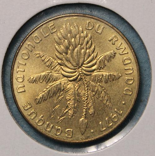Rwanda 1977 20 Francs
