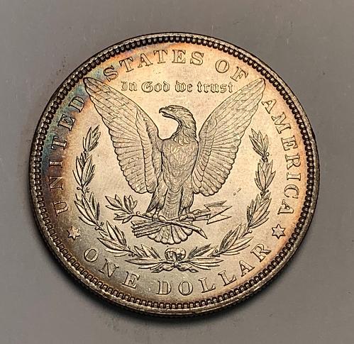 1898 Morgan Silver Dollar BU+ [MDL 135]
