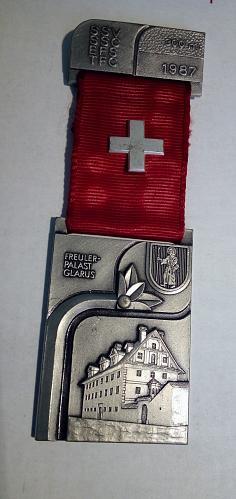 Lot of 5 Switzerland Shooting Medals 🏅