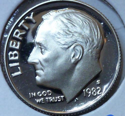 1982-S GEM Brilliant Proof Roosevelt Dime (312)